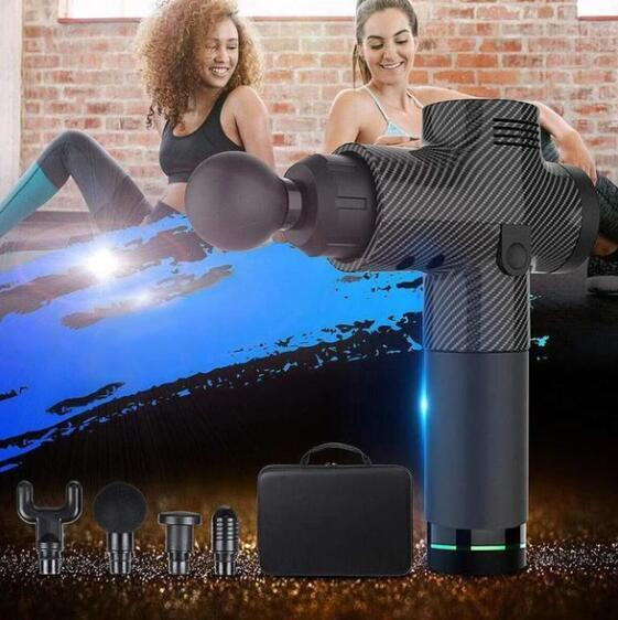 (Free shipping all over the world!)4 In One,Relieving Pain,3 Speed Setting Body Deep Muscle Massager