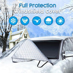 Magnetic Full Protection Windshield Cover+Mirror Covers