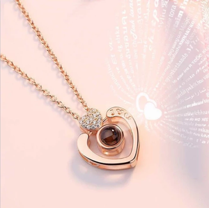 100 Languages, Love Necklace,Love Ring, Best Gift-Buy 2 Free Shipping!!!