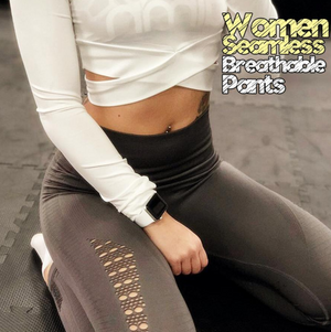 (40% OFF)FadFashion™ Women Seamless Breathable Pants-BUY 2 FREE SHIPPING
