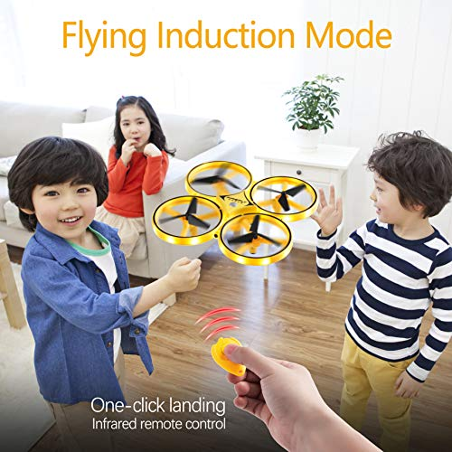 (50% Off Today!)LED Gesture Control Mini Drone