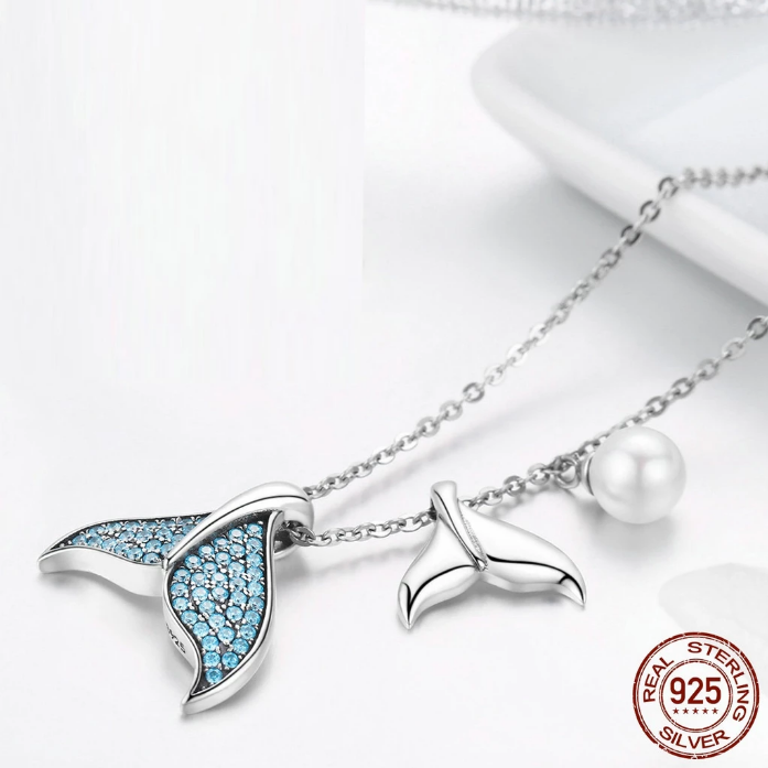 Mermaid Tail 925 Silver-Adjustable jewelry