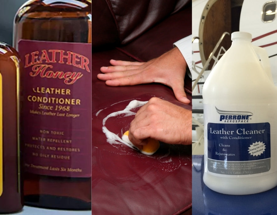 Leather cleaners to remove leather wallet smell