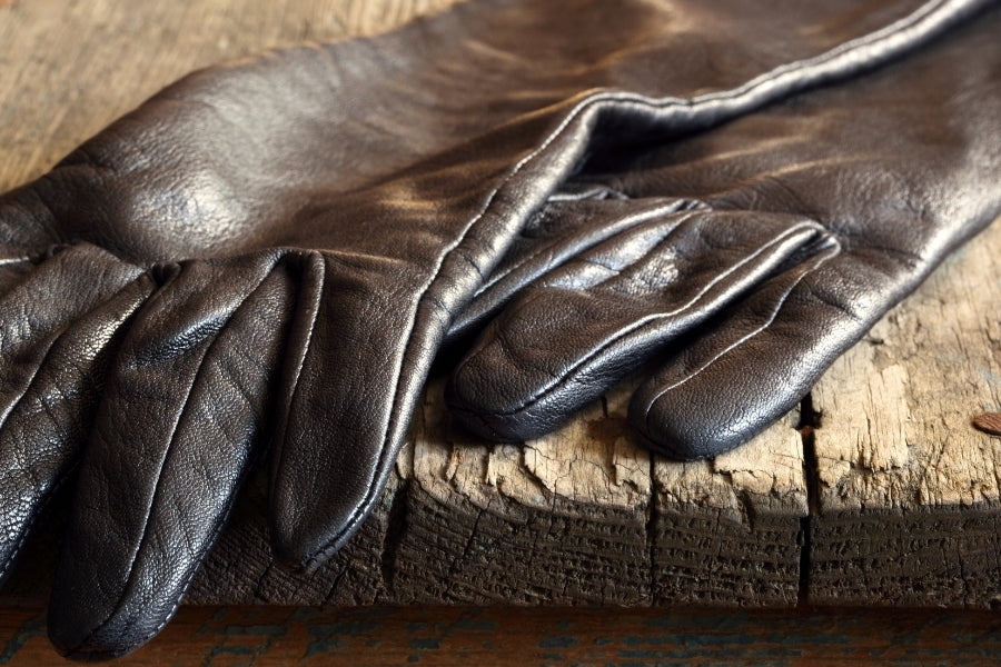 How to shrink leather gloves