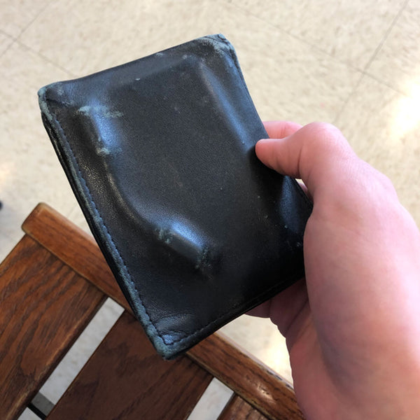 How long can leather wallet last?