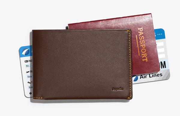 What is a front pocket wallet?