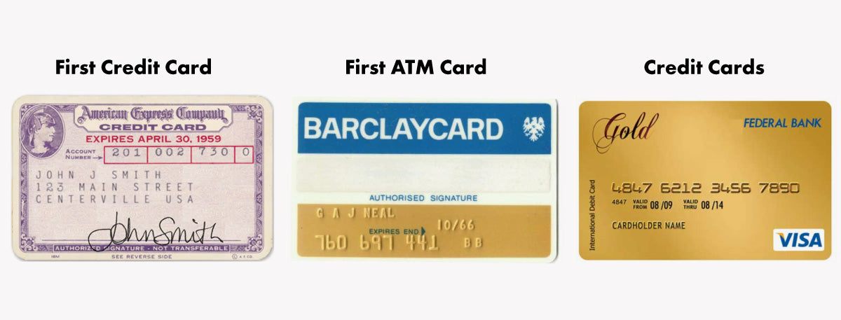 Credit card size history