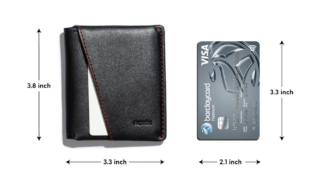 average size of a wallet