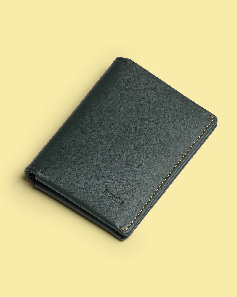 gravity bifold wallet black
