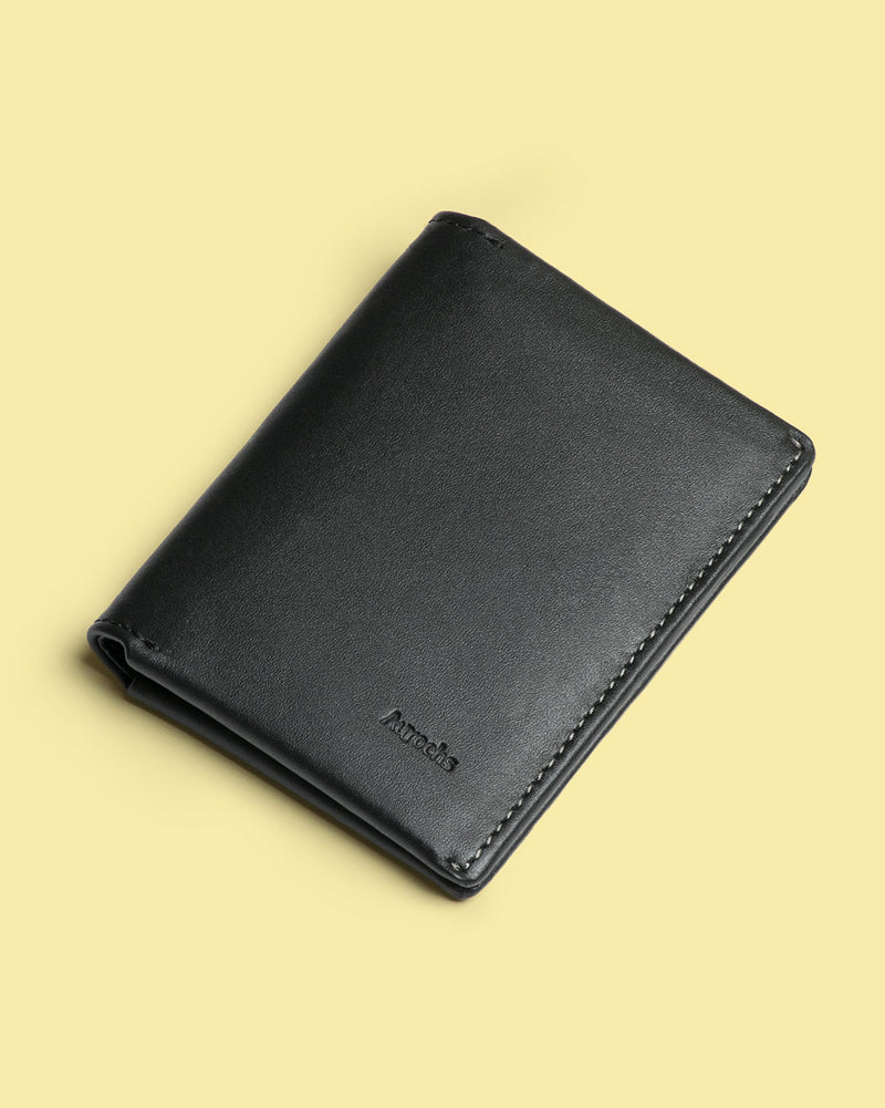 gravity bifold wallet green