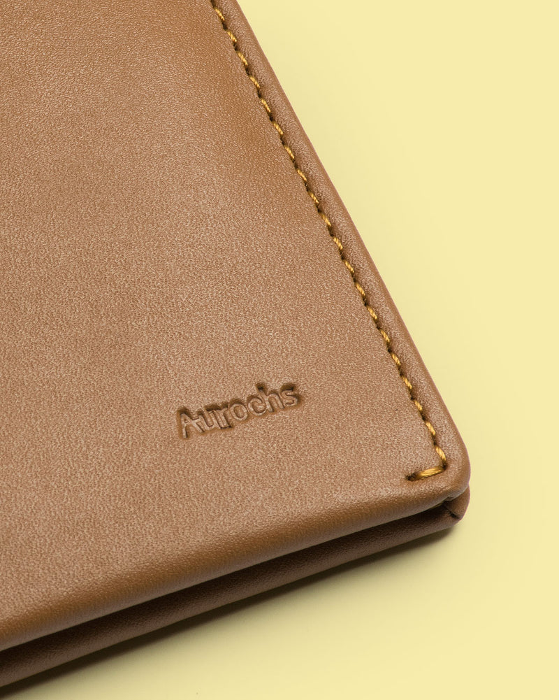 gravity bifold wallet brown