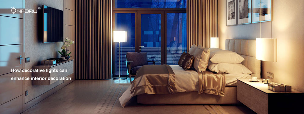 How decorative lights can enhance interior decoration