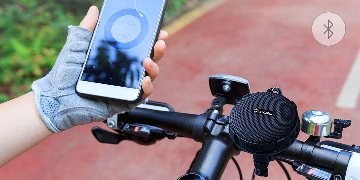 Portable Bluetooth Speaker——The Best Companion for Cycling