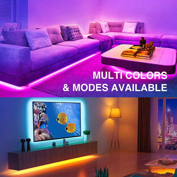 Multi-colors & Modes available