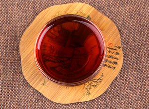 Loose ripe pu'erh tea