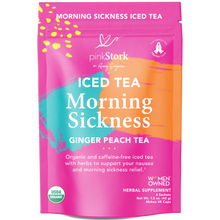 Iced Morning Sickness Tea: 48 Cups - Pink Stork