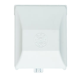 2 PSI Gas Outlet - White PVC