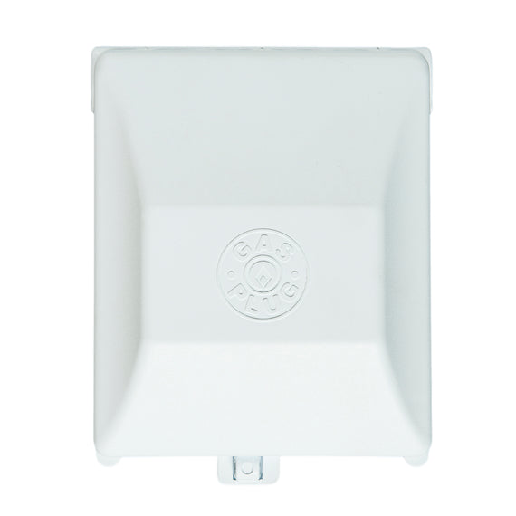 Gas Outlet - White PVC