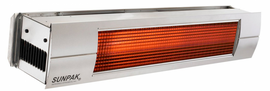 Sunpak Infrared Patio Heater NG 34,000 Stainless Steel