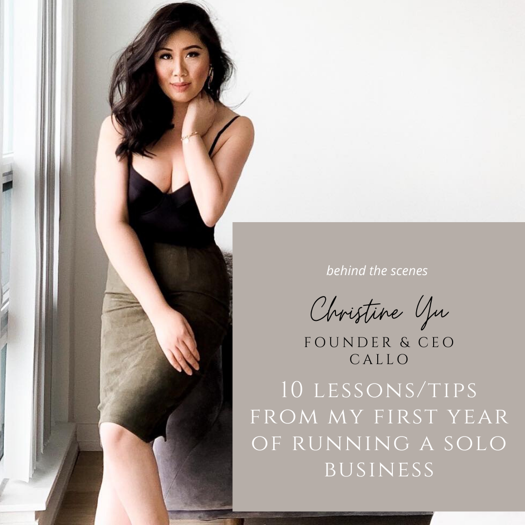 10 Lessons/Tips I've learned in the First Year of Business