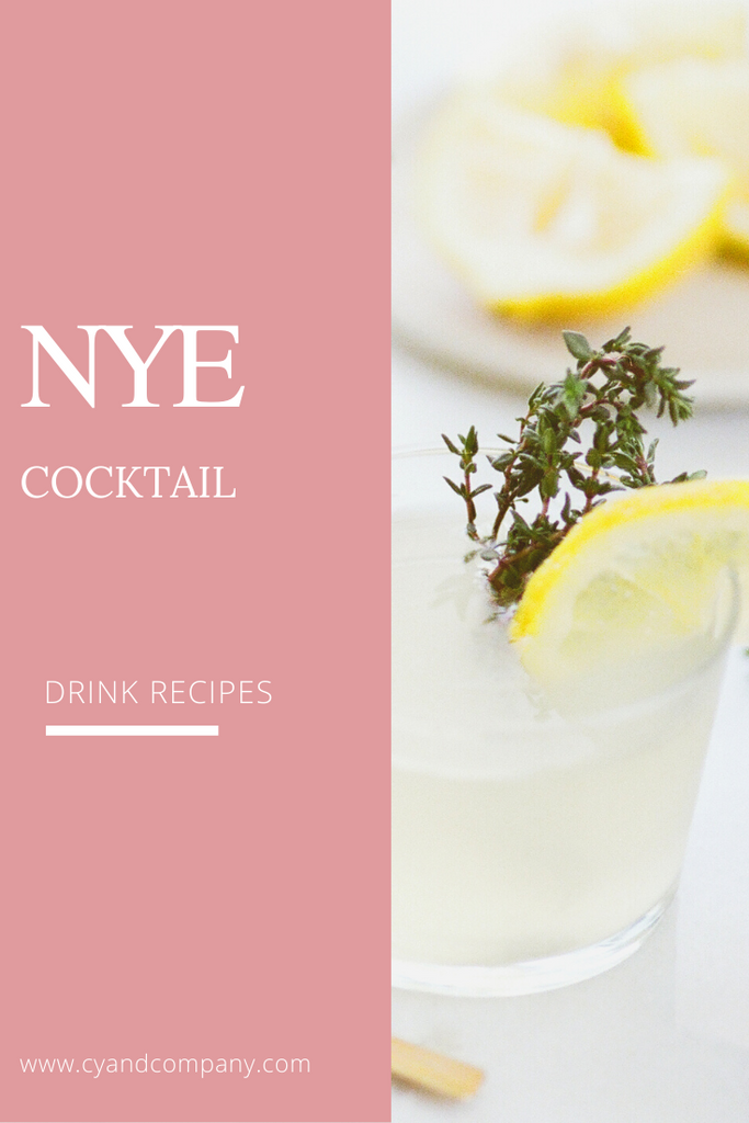 NYE Cocktail Recipe!