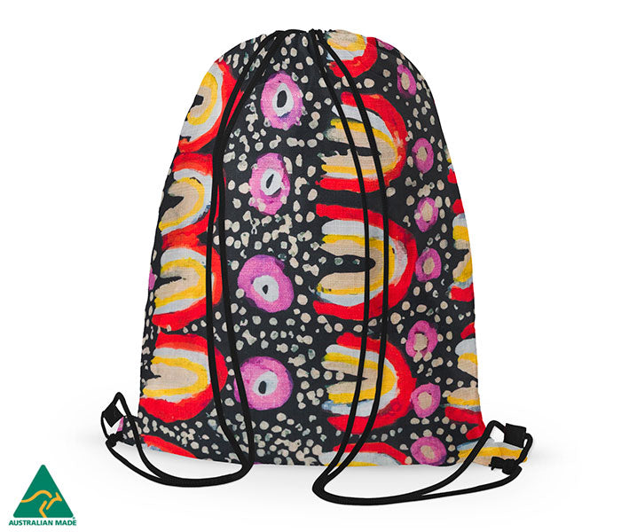 Maggie Long Drawstring Bag