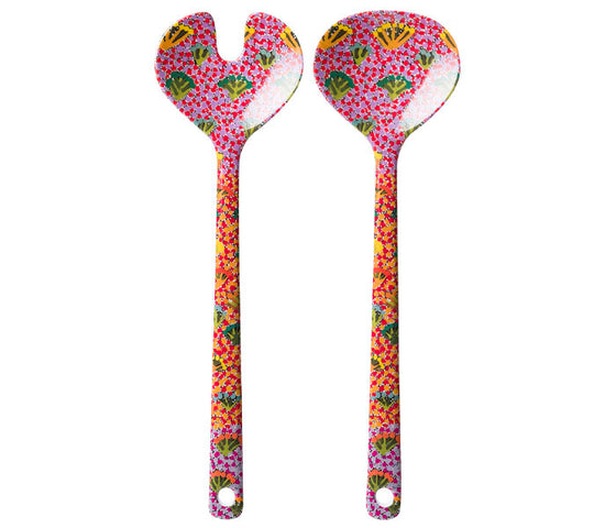 Daisy Moss Salad Servers