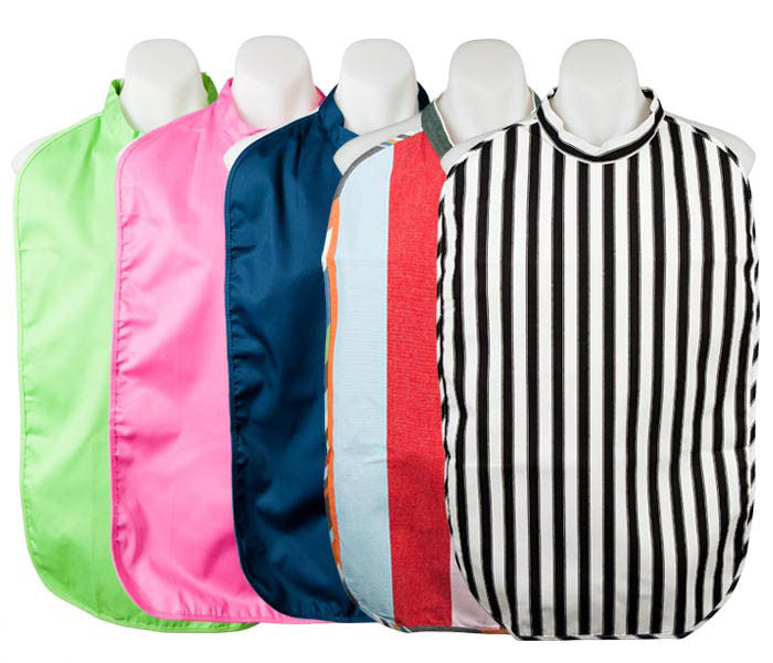 Adult Bibs with Nylon Backing
