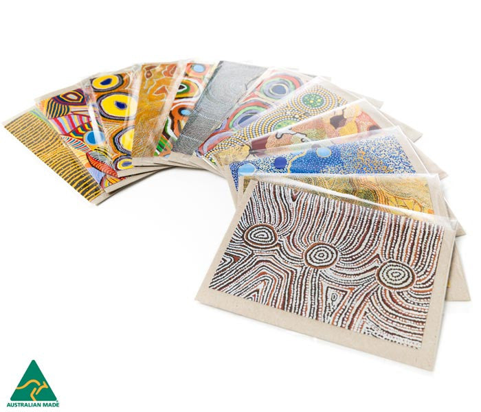 Aboriginal Art Greeting Cards - Yarliyil Art Centre