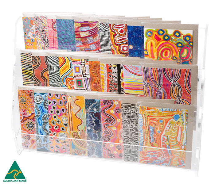 Aboriginal Art Greeting Cards - Warlukurlangu Artists of Yuendumu