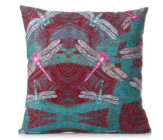 Sheryl J Burchill Cushion Cover - Ocean