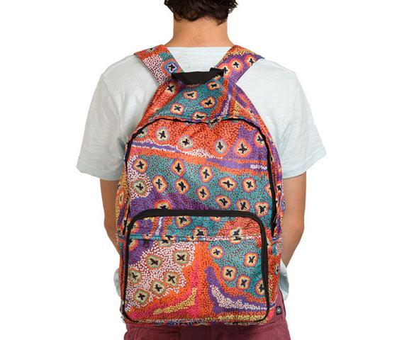 Ruth Stewart Fold up Backpack