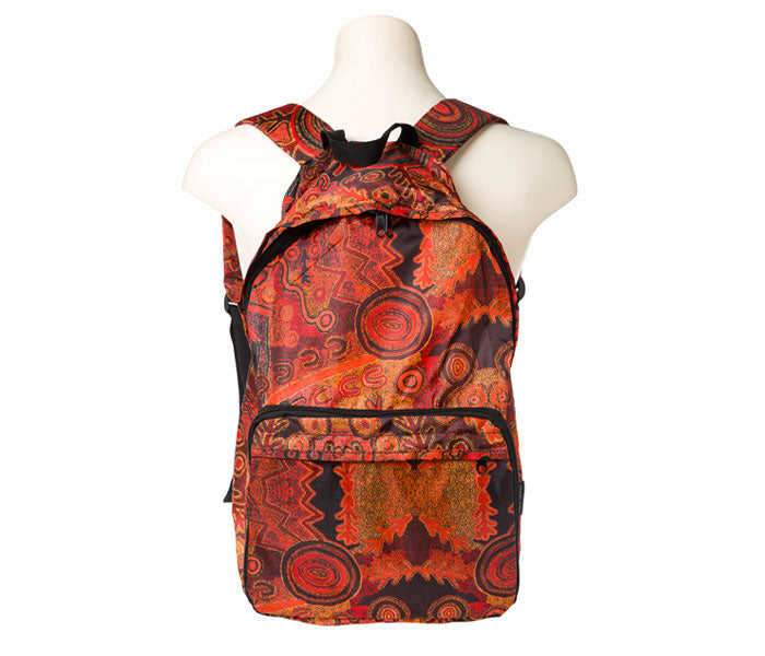 Theo Hudson Fold up Backpack