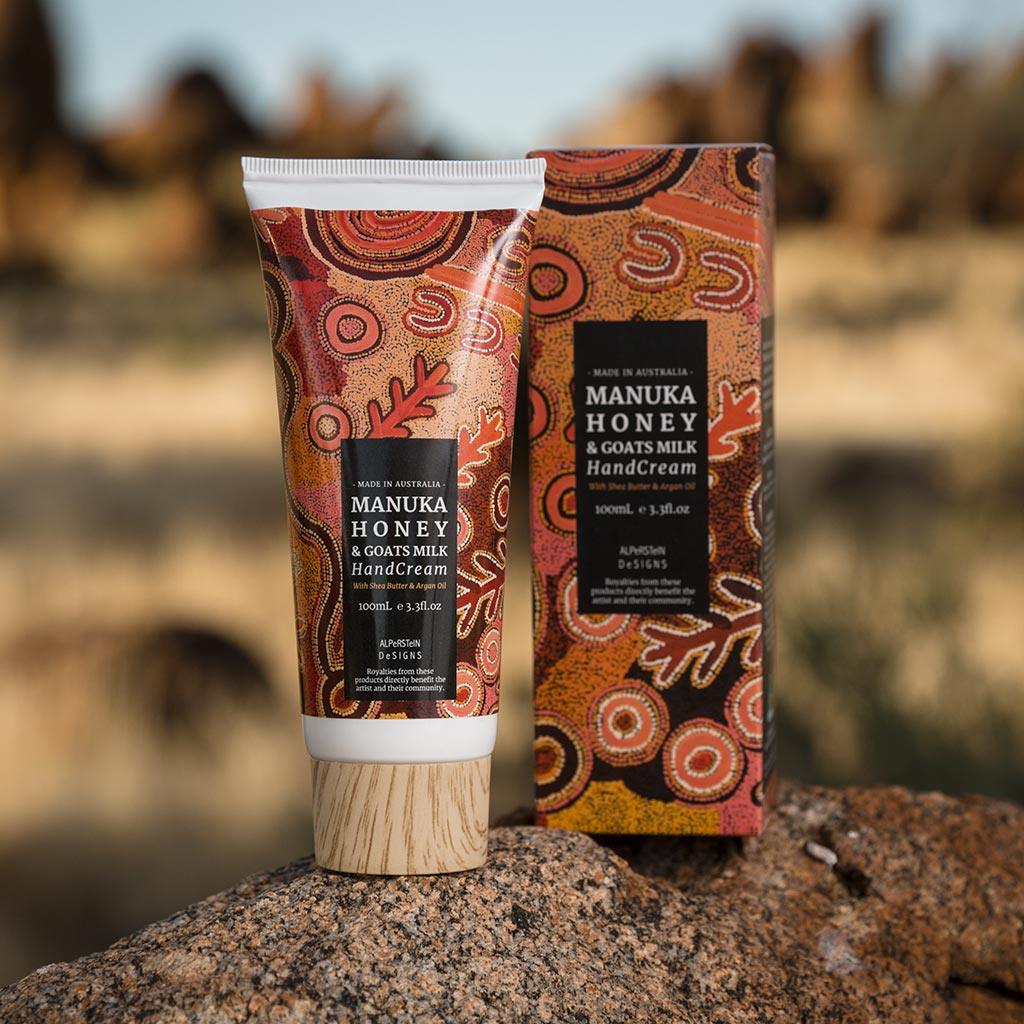 Theo Nangala Manuka Honey Hand Cream