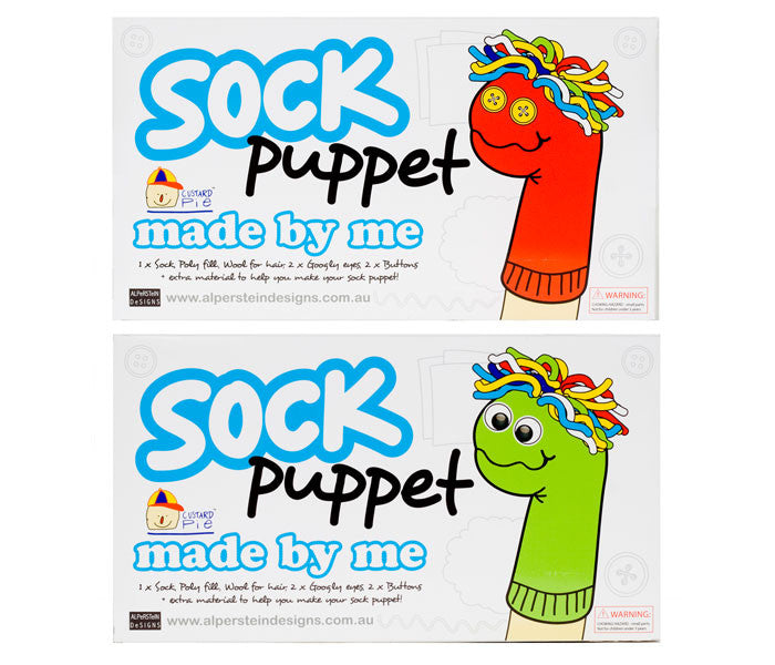 made by me Sock Puppet