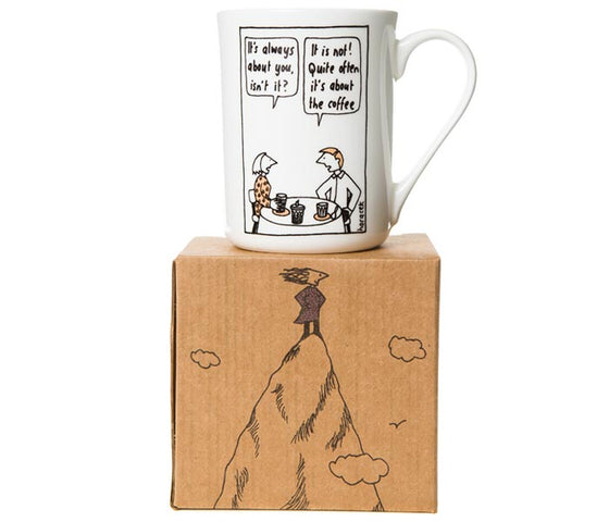 Judy Horacek Mug - It's all about the Coffee!