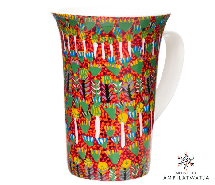 Aboriginal Art Mug - Artists of Ampilatwatja