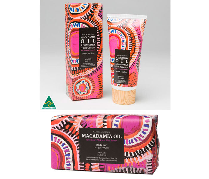 Macadamia Oil Handcream and Soap