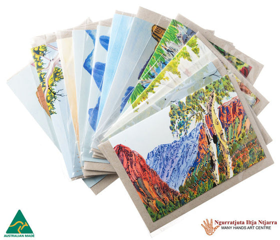Aboriginal Art Gift Cards - Many Hands