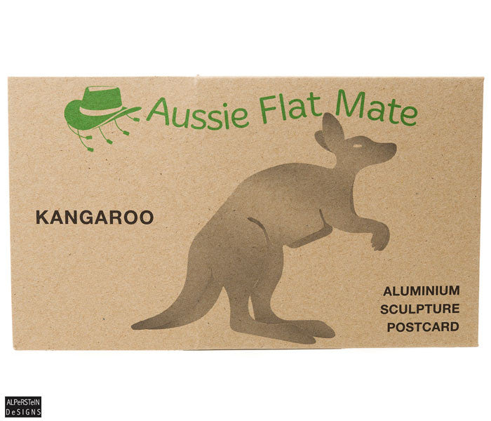 Kangaroo Sculpture Postcard