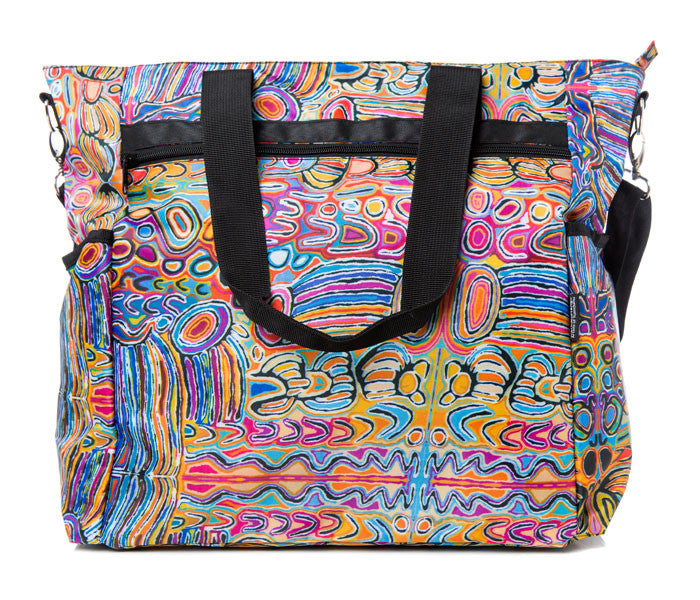 Judy Watson (JU) Large Travel Bag