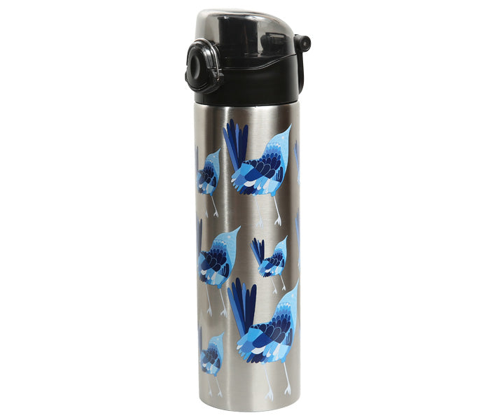 Blue Wren Drink Bottle