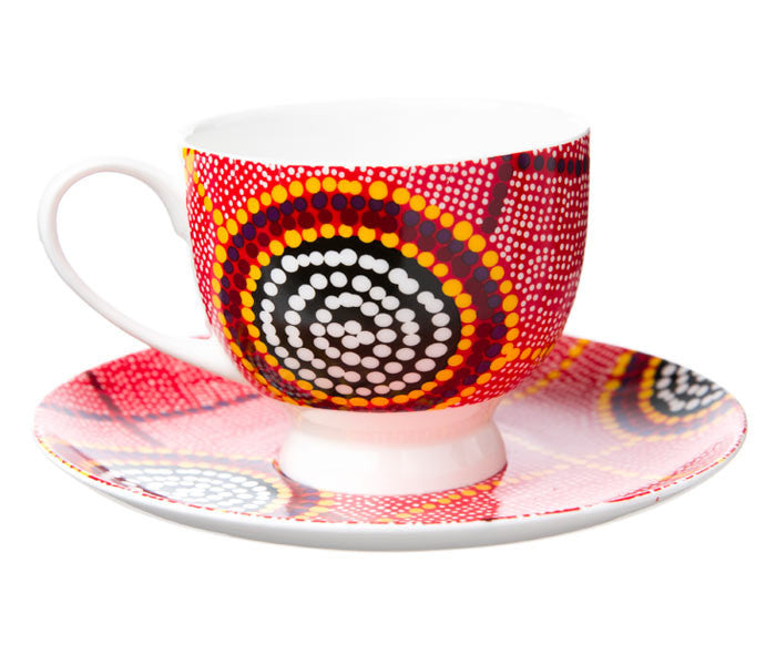 Debbie Brown Tea Cup & Saucer