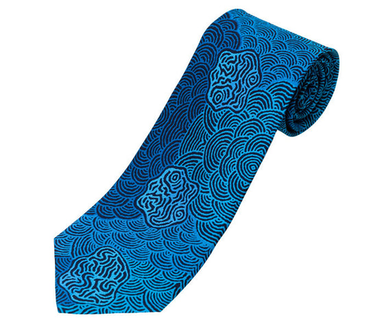 Kirsty Brown Silk Tie