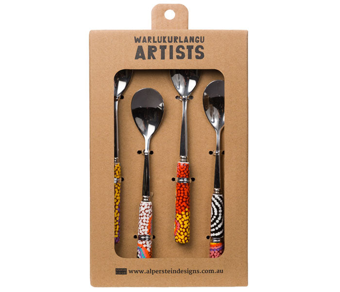 Ruth Stewart Aboriginal Art Teaspoon Set