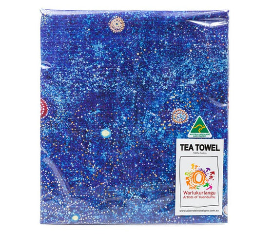 Alma Granites Tea Towel