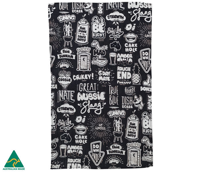 Great Aussie Slang Tea Towel