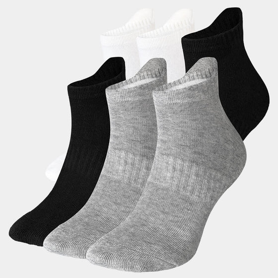 LOW CUT INVISIBLE LOAFER SOCKS 6PACK