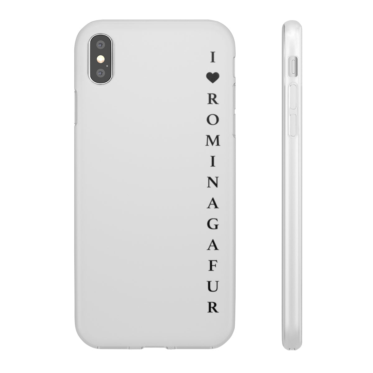 iPhone Case - I Love Romina Gafur