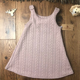 The Little Fawn Cable Knit A-Line Dress 0-4 years - All Colours